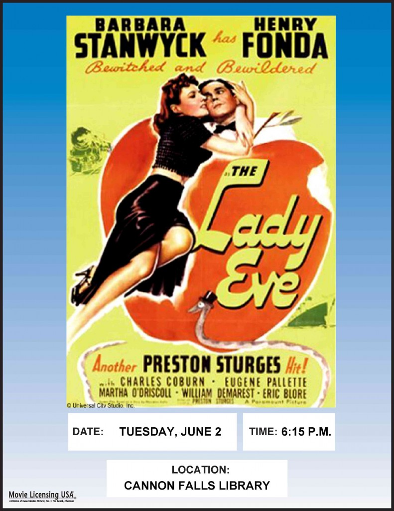 THE_LADY_EVE_poster1